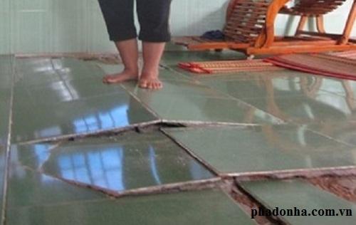 Kinh nghiệm hay giúp bạn tự sửa chữa nền nhà bị hỏng