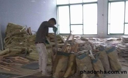 Phế thải xây dựng được phân loại như thế nào?