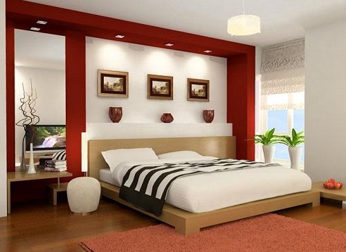Kinh nghiệm bài trí phòng ngủ trong quá trình sửa chữa nhà