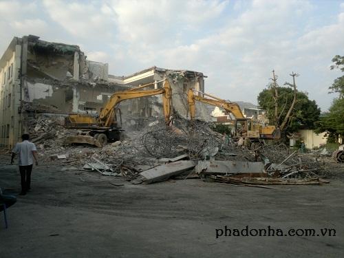 Những điều bạn cần chú ý khi phá dỡ công trình tại Hà Nội