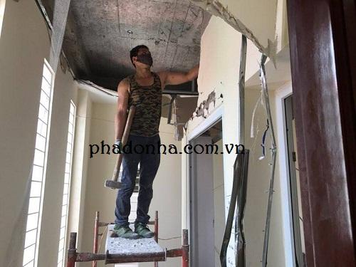 An toàn trong thi công phá dỡ công trình