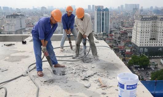Cách sử dụng lưỡi cắt kim cương để cắt tường bê tông
