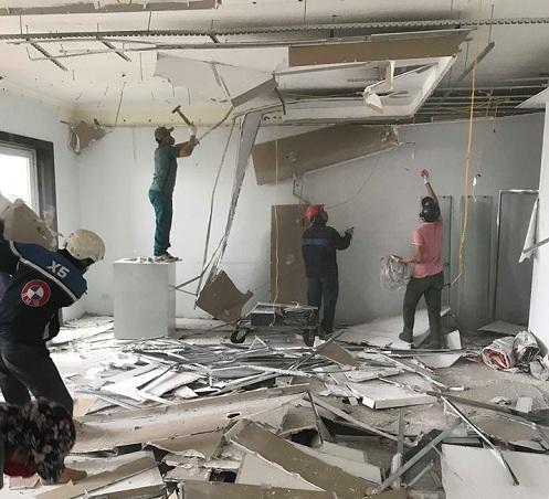 Phá dỡ công trình, sửa chữa nhà tại Chung cư Vimeco Ct3 Nguyễn Chánh