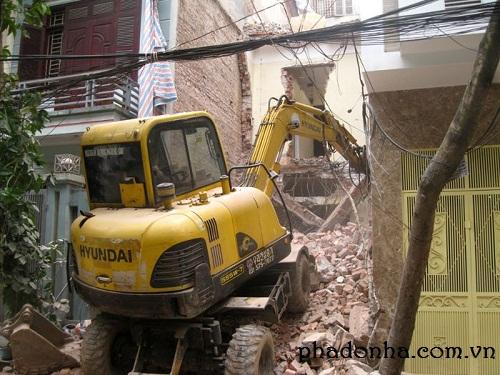 Kinh nghiệm hay trong phá dỡ nhà cũ