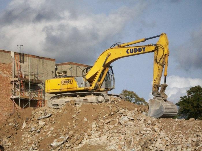Chi phí phá dỡ nhà – đào móng nhà