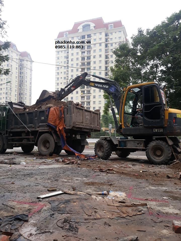 Các phương tiện Vận chuyển phế thải xây dựng