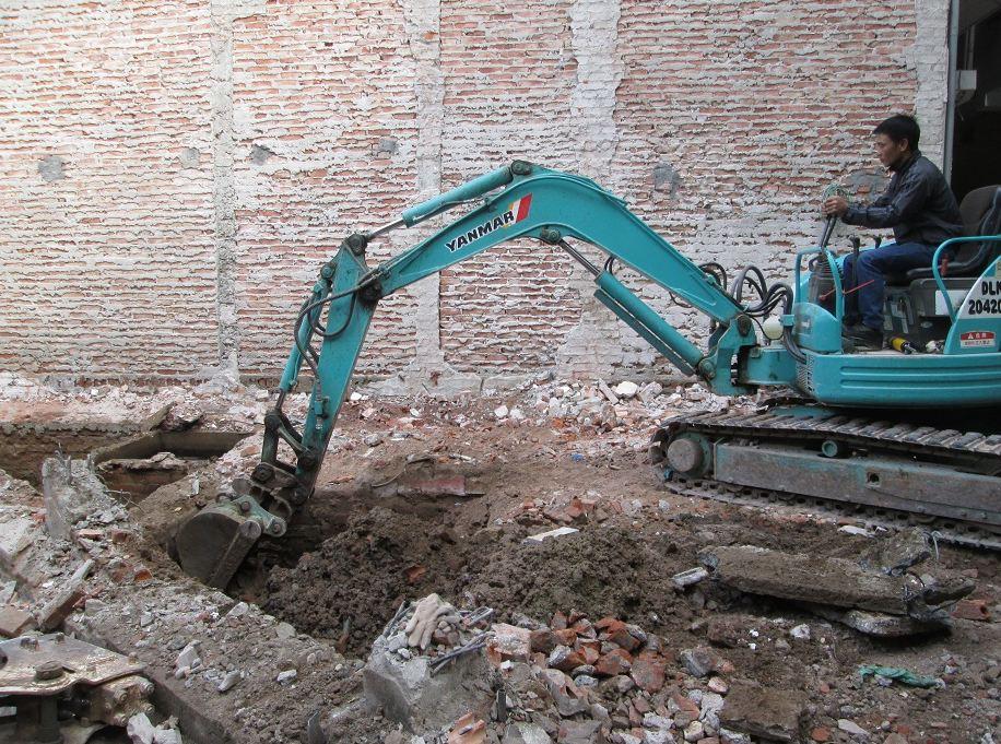 Công tác cần chuẩn bị trước khi đào móng nhà