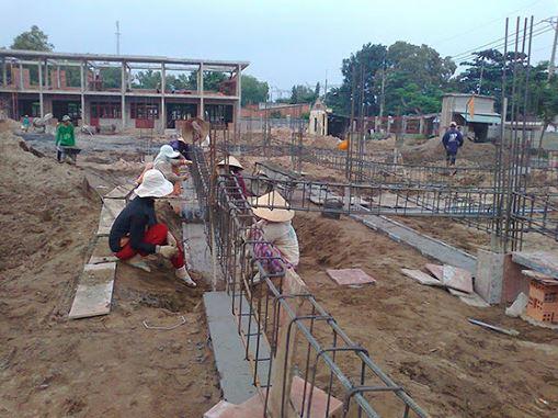 Quy trình đào móng nhà bạn cần quan tâm