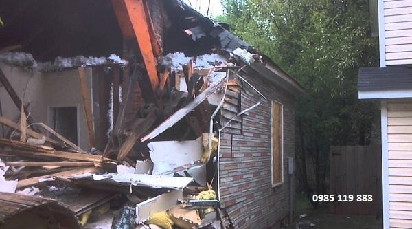 Các loại máy móc Hoan Hoa sử dụng để phá dỡ nhà
