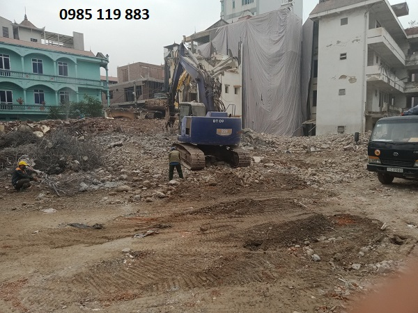 Phá dỡ nhà tại Hà Nội giá rẻ, nhanh chóng, chuyên nghiệp