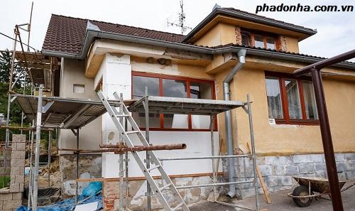 Sửa chữa nhà cần tránh điều gì?