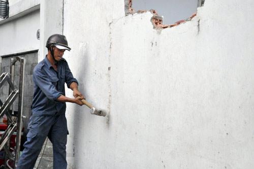 Lưu ý khi phá tường sửa chữa nhà cũ