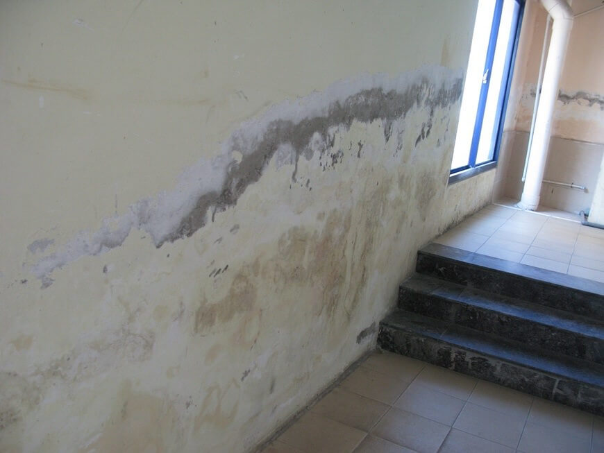 Khắc phục nhà bị thấm nước