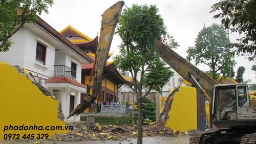 Biện pháp phá dỡ công trình cũ