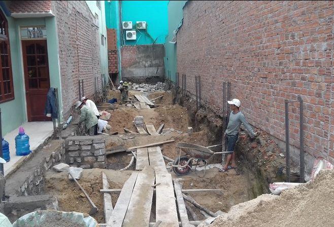 Những điều cần làm trước khi đào móng nhà