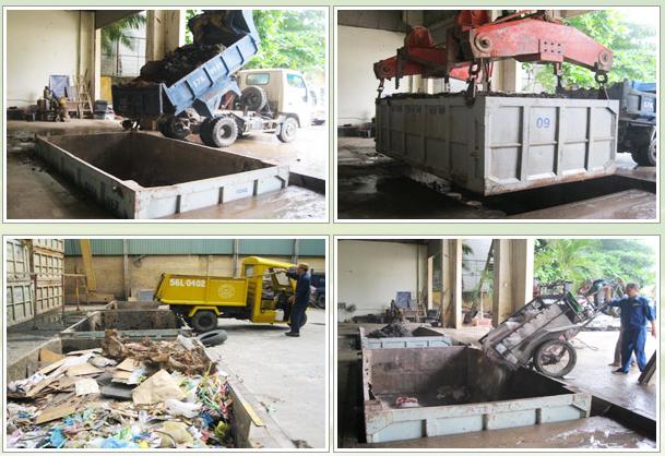 Vận chuyển vật liệu phế thải